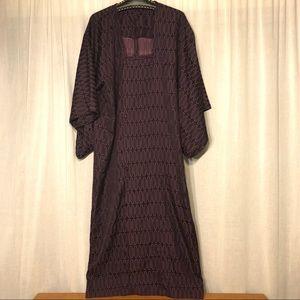 Other - Kimono Kaftan Style Robe Geometric Caftan Unisex